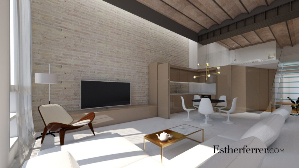 3 ideas para reformar tu casa tras el confinamiento: sala abierta a doble altura