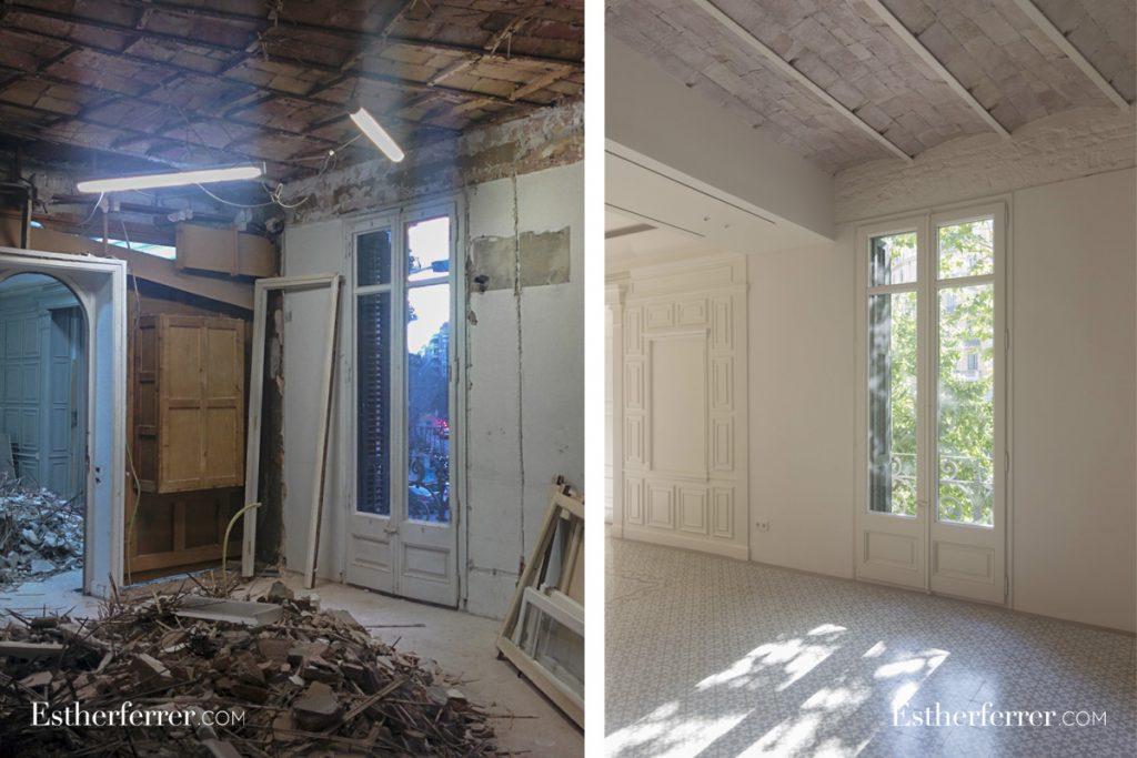 cómo reformar un piso modernista en barcelona sin estropearlo: bóveda catalana