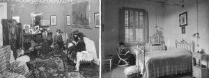 cómo reformar un piso modernista en barcelona sin estropearlo: fotos antiguas de interiores modernistas