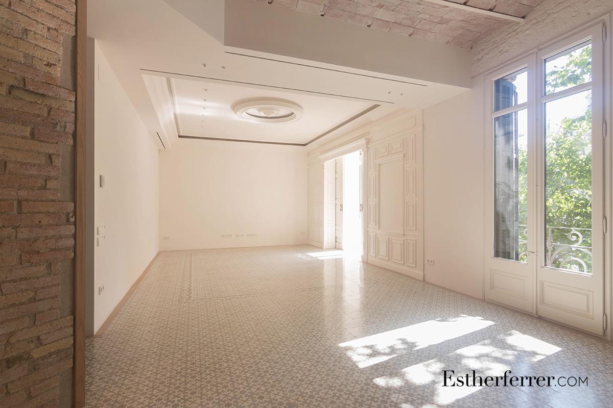 reforma integral de piso modernista en l'eixample de Barcelona