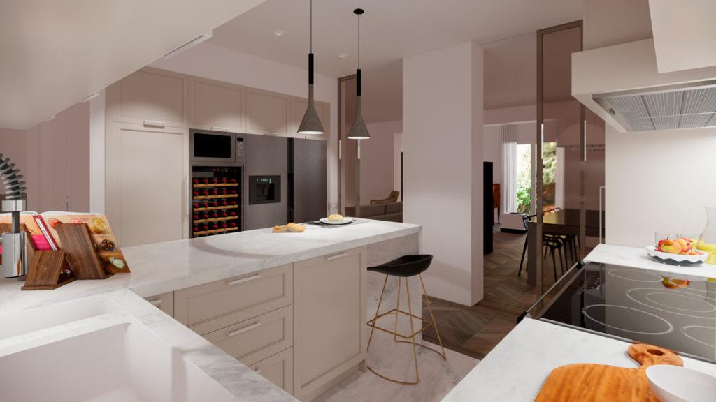 3 ideas para reformar tu casa tras el confinamiento: nevera grande y vinoteca