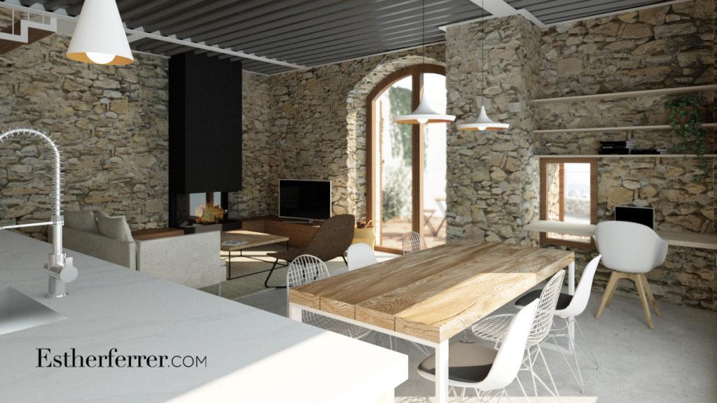 3 ideas para reformar tu casa tras el confinamiento: escritorio de cortesía y mesa de comedor