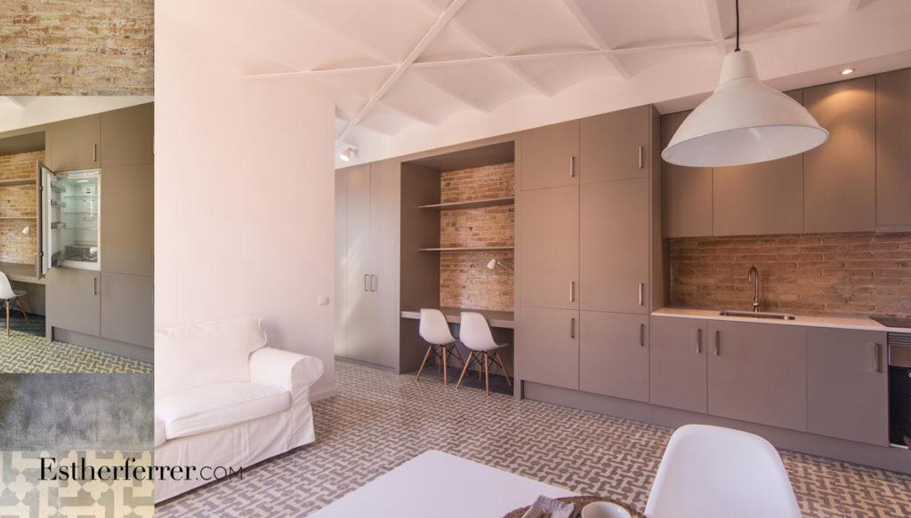 3 ideas para reformar tu casa tras el confinamiento: cocina abierta en piso pequeño
