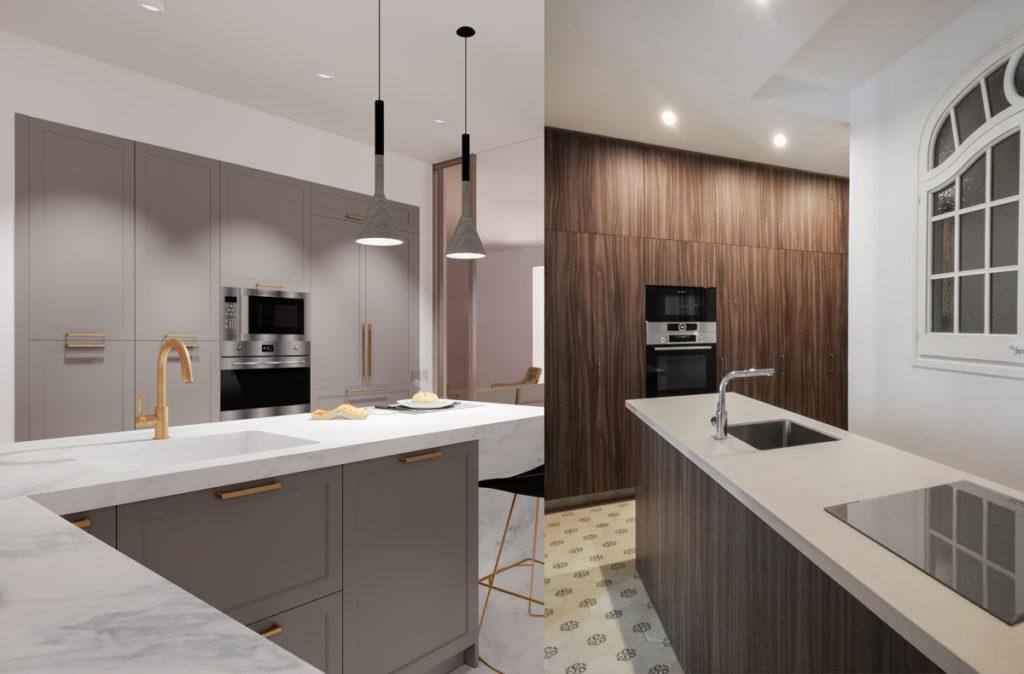 3 ideas para reformar tu casa tras el confinamiento: electrodomesticos panelados de cocina