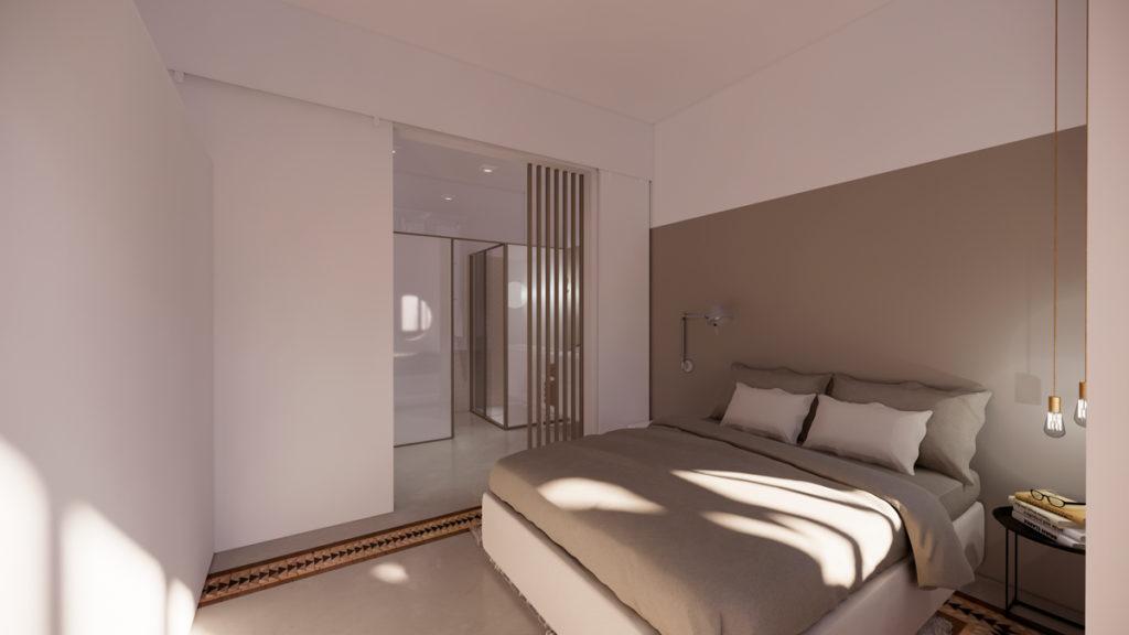 3 ideas para reformar tu casa tras el confinamiento: suite con puertas correderas