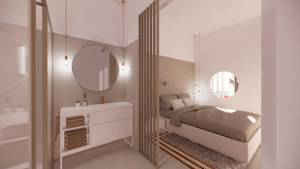 3 ideas para reformar tu casa tras el confinamiento: baño abierto al dormitorio