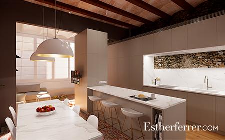 "piso modernista en casa ""Destilerias Cisa"" de Sants"