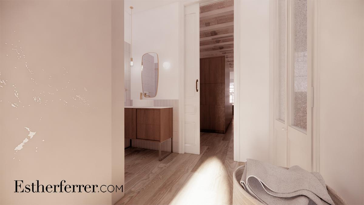 piso modernista en passeig de sant joan